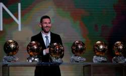 Lionel Messi won a record-breaking sixth Ballon d'Or trophy