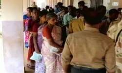 Repolling in one booth in Jharkhand's Sesai seat on Monday