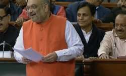 Amit Shah quips at Congress in Lok Sabha