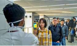 Travellers from China being screened on Indian airports