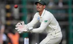 South Africa wicketkeeper Quinton de Kock in action during