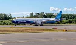 Boeing 777X with world's largest jet engine set for first flight
