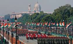 Unfurling of tricolour and 21-gun salute, India celebrates