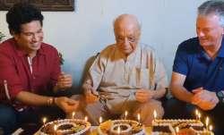 Sachin Tendulkar, Steve Waugh celebrate 100th birthday of India's oldest living first-class crickete