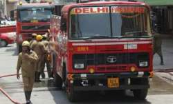 Rajouri Garden, Delhi, fire broke,