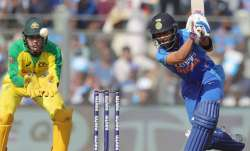 Indian skipper Virat Kohli in action against Australia in