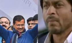 shah rukh khan, aam aadmi party