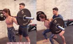 Shahid Kapoor's wife Mira Rajput excels at 40 Kg squats