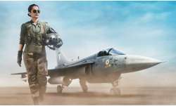 kanagana ranaut tejas first look