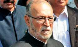 Strictly implement containment in high risk zones: LG Baijal