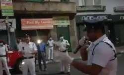 Policeman dons singer's hat to cheer people amid coronavirus lockdown | Watch video