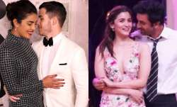 Alia Bhatt, Ranbir Kapoor filmed each other, Nick Jonas turned cameraman for Priyanka Chopra