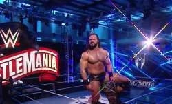 WWE Wrestlemania: Drew Mcintyre beats Brock Lesnar to become WWE Champion; Bray Wyatt outclasses Joh