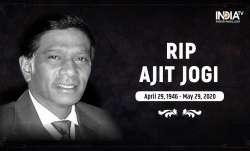ajit jogi dies, Former Chhattisgarh CM Ajit Jogi, ajit jogi death, ajit jogi dies latest news, ajit