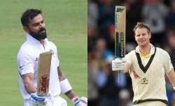 Virat Kohli and Steve Smith