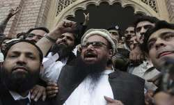 Hafiz Saeed, head of the Pakistani religious party,