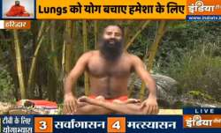 Beat Tuberculosis through yogasanas that will strengthen your lungs, shared by Swami Ramdev
