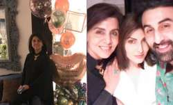 On Neetu Kapoor's 63rd birthday, wishes pour in from Riddhima, Ranbir Kapoor and others