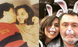 neetu kapoor rishi kapoor old photos