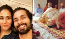 Shahid Kapoor's anniversary wish for wife Mira Rajput depicts their 5 years of marital bliss