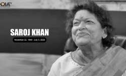 Ace choreographer Saroj Khan, 71, dies of cardiac arrest in Mumbai
