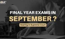 UGC guidelines final year exams, UGC hearing final year exams, cancel final year exams, ugc hearing