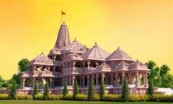 Proposed model of Ram Janmbhoomi Mandir in Ayodhya