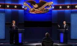 President Donald Trump, left, and Democratic presidential candidate former Vice President Joe Biden