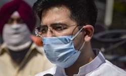 Aam Aadmi Party leader Raghav Chadha