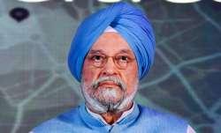 Civil Aviation Minister Hardeep Singh Puri