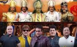 Kapil Sharma welcomes Mahabharat star cast on The Kapil Sharma Show