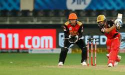 SunRisers Hyderabad vs Royal Challengers Bangalore Live Score IPL 2020: Kohli falls, De Villiers key