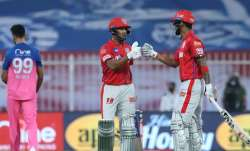 Live Score Rajasthan Royals vs Kings XI Punjab IPL 2020: Mayank, Rahul slam fifties as KXIP dominate