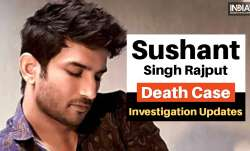 Sushant Singh Rajput Death Case Updates rhea chakraborty