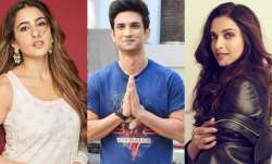 Deepika Padukone, Shraddha Kapoor, Sara Ali Khan join drugs prove in Sushant Singh Rajput death case