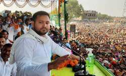 RJD leader Tejashwi Yadav sayd BJP doesn't have a face in