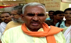 UP BJP issues warning to MLA Surendra Singh for defending Ballia shootout accused