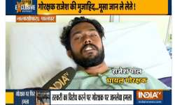 Rajesh Pal, a gau rakshak, was attacked when he was out to