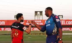 Live Score Mumbai Indians vs Royal Challengers Bangalore IPL 2020: Pollard opts to bowl against RCB