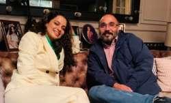Kangana Ranaut hosts dinner evening for Tejas director Sarvesh Mewara