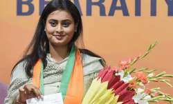 Shreyasi Singh is contesting elections from Jamui Vidhan