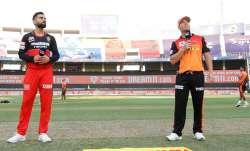 Live Score Royal Challengers Bangalore vs Sunrisers