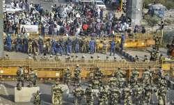 Farmers gather at Delhi-Noida border: Key route closed for traffic movement   check alternate entry