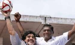 Diego Maradona IM Vijayan