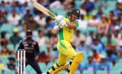 David Warner scores his 23rd ODI fifty