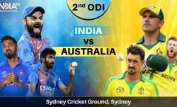 Live Streaming Cricket India vs Australia 2nd ODI: Watch IND vs AUS match online on SonyLIV and Sony