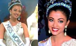 When the blue-eye beauty Aishwarya Rai Bachchan was crowned Miss World 1994
