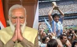 narendra modi, diego maradona, diego maradona death, diego maradona dies, narendra modi twitter