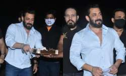 Salman Khan begins birthday celebrations at Panvel