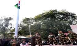 BSF unfurls tallest 131-feet-high tricolour along Indo-Pak border in Jammu
